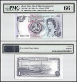 Isle of Man 1 Pound, ND 1983, P-40c, PMG 66