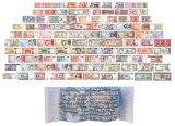 100 Pieces of Different World MIX Foreign Banknotes, Currency, UNC