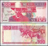 Namibia 100 Namibia Dollars Banknote, 2003, P-9A, UNC