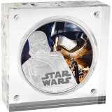 Niue Disney Star Wars 2 Dollars 1oz Silver Coin, 2016, The Force Awakens-Captain Phasma