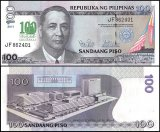 Philippines 100 Piso Banknote, 2011, P-212A, UNC