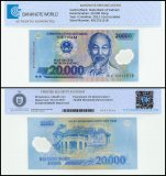 Vietnam 20,000 Dong Banknote, 2012, P-120e, UNC, TAP Authenticated