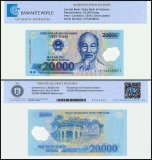 Vietnam 20,000 Dong Banknote, 2014, P-120f, UNC, TAP Authenticated