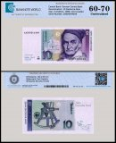 Germany Federal Republic  10 Deutsche Mark Banknote, 1999, P-38dr, Replacement, UNC, TAP 60 - 70 Authenticated