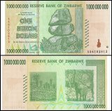 Zimbabwe 1 Billion Dollars Banknote, 2008, P-83, UNC