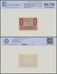 Austria 1 Krone Banknote, 1922, P-73, UNC, TAP 60 - 70 Authenticated
