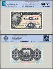 Gibraltar 10 Shillings Banknote, 2018, UNC, TAP Authenticated