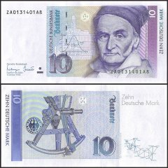 Germany 10 Mark Banknote, 1993, P-38c, UNC, Replacement