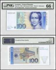 Germany 100 Deutsche Mark, 1993, P-41c, PMG 66