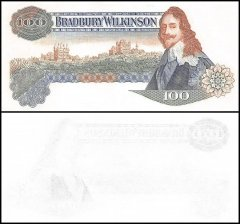 Great Britain Bradbury Wilkinson Promo Banknote, King Charles I, Obverse Stage, Blue Print