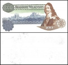 Great Britain Bradbury Wilkinson Promo Banknote, King Charles I, Obverse Stage, Green Print