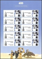 Great Britain Star Wars World Show New York Character Stamps, 2016,Storm Trooper
