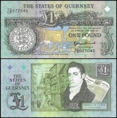 Guernsey 5 Pounds P56c UNC**New