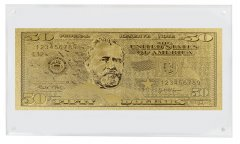United States of America - USA 50 Dollars Novelty / Fantasy Gold