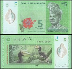 Malaysia 5 Rinngit Banknote, 2012, P-52, UNC