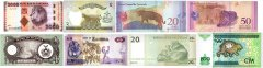 Nine Lives Collection, 8 Piece Banknote Set, UNC