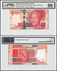 South Africa 50 Rand, ND 2012, P-135a, PMG 66