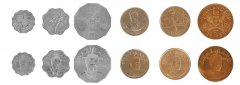 Swaziland 5 Cents - 5 Emalangeni, 6 Piece Coin Set, 1999 - 2008, Mint