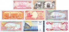 Tide to the Sea Collection, 8 Piece Banknote Set, UNC