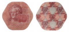 Transnistria 10 Rubles 0.9g Composite Material Coin, 2014, Mint, Schon # 204