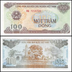 Vietnam 100 Dong Banknote, 1991, P-105a, UNC