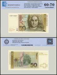 Germany Federal Republic 50 Deutsche Mark Banknote, 1993, P-40c, UNC, TAP Authenticated