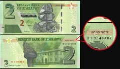 Zimbabwe Currency And Banknotes For