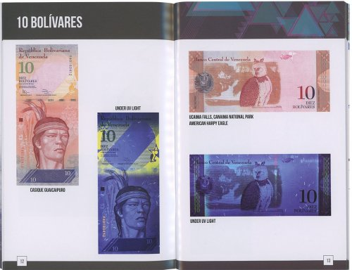 Banknote World Banknotes of Venezuela Booklet, 2019, UNC, Currency