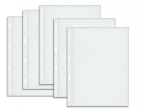 1 - Pocket Graded Banknote Album Pages, 5 Pack, Clear Sleeves, Refill Pages