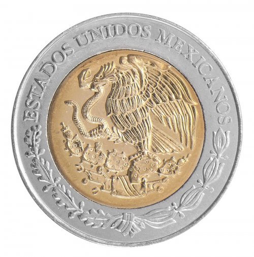 Mexico 5 Pesos Coin, 2009, KM # 912, Mint, Bicentenary Independence, Agustin Iturbide