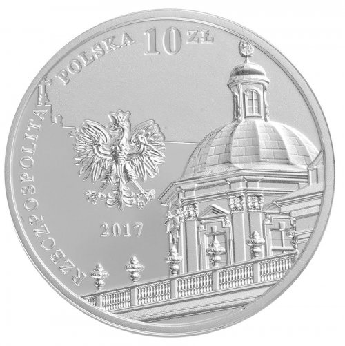 Poland 10 Zlotych 14g Silver Proof Coin, 2017, Mint, Ossolinski Institute