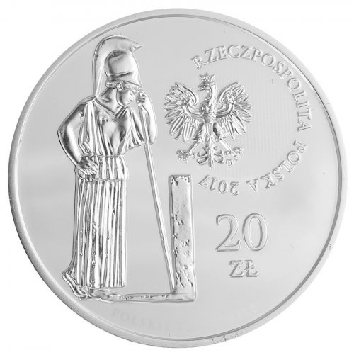Poland 20 Zlotych 28g Silver Proof Coin, 2017, Mint