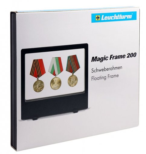 Double Sided Magic Frame, Easy Standing, 2 Transparent Flexible Membranes - Accessories