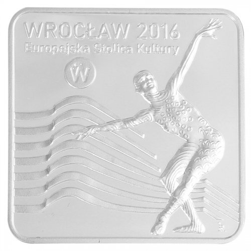 Poland 10 Zlotych 14g Silver Proof Coin, 2016, Mint