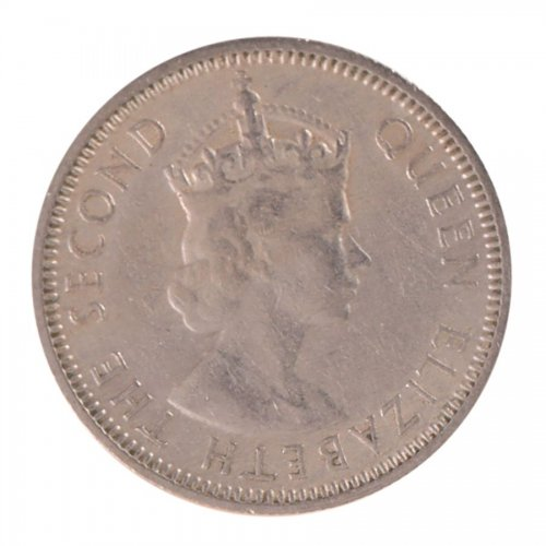 Fiji 6 Pence 2.82 g Silver Coin, 1953, KM #19, MS - Mint