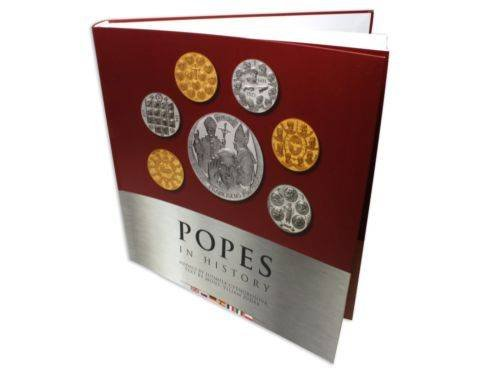 Popes - Pope in History 100 g Silver Proof Medals 7 Pieces Coin Set, SN # 0193