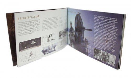 Great Britain The Making of Star Wars British Story Prestige Collectible Stamp