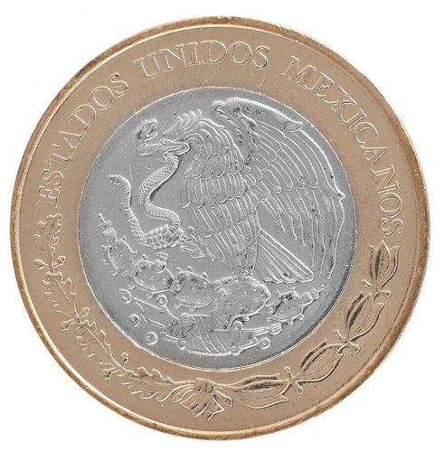 Mexico 20 Pesos 16 g Bi-Metallic Coin, 2017,Mint,100th Ann. Constitution of 1917