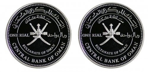 Oman 1 Rial 28 g Silver 2 Pieces (PCS) Coin Set,2011,KM#170-171,Mint,Royal Opera