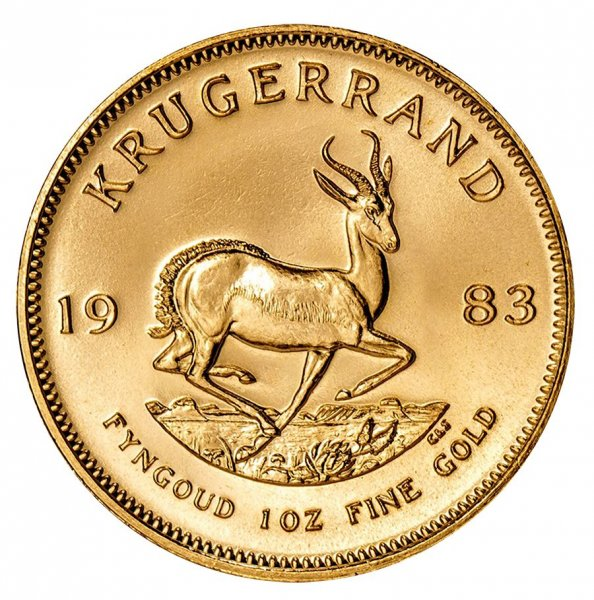 1983 South Africa 1 oz Gold Krugerrand