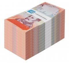 【Brick】1000 PCS Venezuela 10 Bolivares Soberano P- NEW 10 bundles 2018 UNC